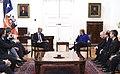 Jefa de Estado se reúne con el ministro de Transporte de Argentina en el marco del acuerdo del Túnel Agua Negra (29760740693).jpg