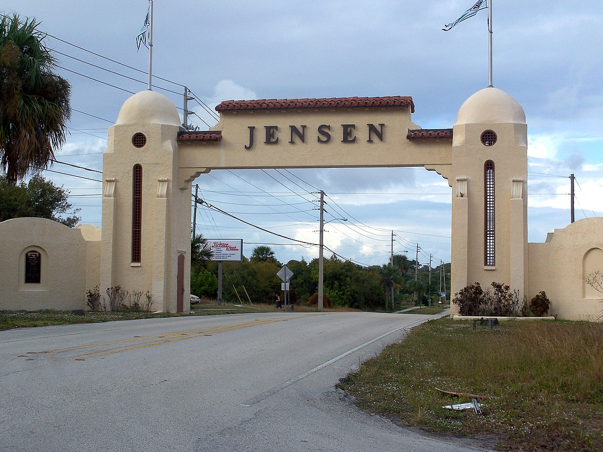 Jensen Fl To Indian Harbor Beach Fl