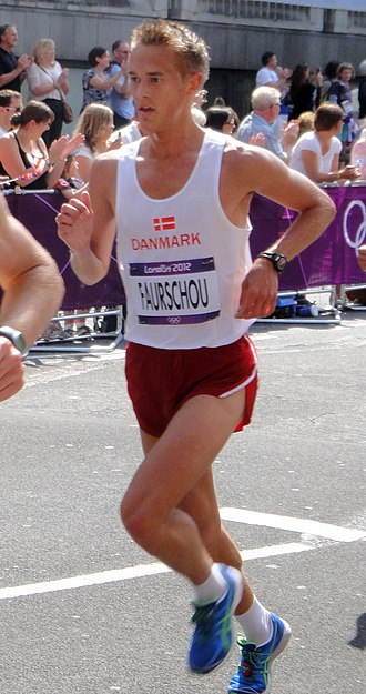 Denmark at the 2012 Summer Olympics - Jesper Faurschou in men's marathon