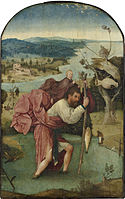 St. Christopher Carrying the Christ Child