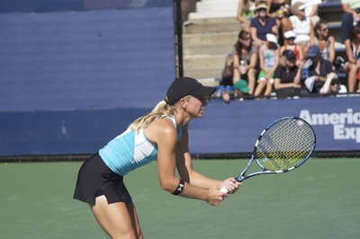 Jill Craybas at the 2008 US Open