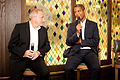 Jim Rosenthal and Jeremy Guscott at the Ivy Dinner Events (7527190692).jpg