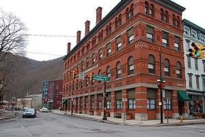 Lehigh Coal & Navigation Company - Image: Jim Thorpe Lehigh Broadway 2898px