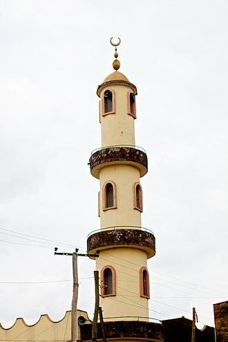 Islam in Ethiopia - A mosque in Jimma.