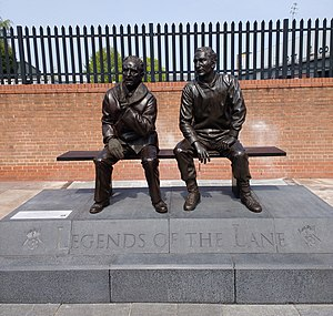 Notts County F.C. - Image: Jimmy and Jack statue