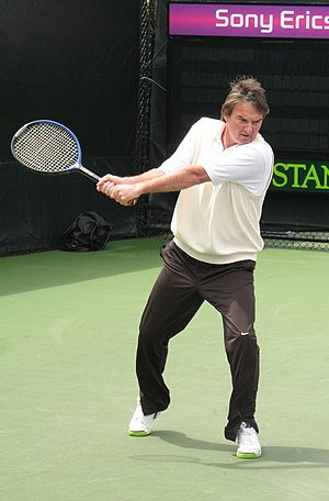 Grunting in tennis - Jimmy Connors