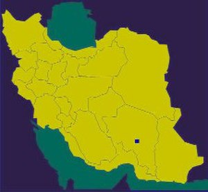 Jiroft culture - location of Jiroft in Iran