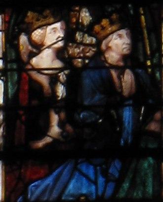 James II, Count of La Marche - Image: Joan II of Naples james II of Bourbon
