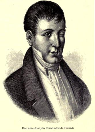 José Joaquín Fernández de Lizardi - José Joaquín Fernández de Lizardi.
