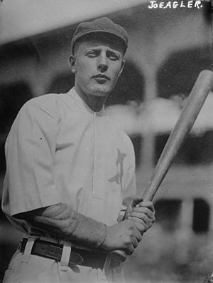 Joe Agler - Joe Agler with the Atlanta Crackers in 1912.