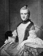 Portrait of Freifrau von Münchhausen