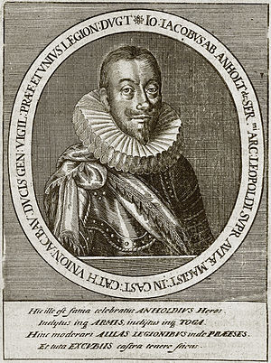 Johann Jakob von Bronckhorst-Batenburg Merian 1662