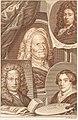 Johannes Christiaan Bendorp - portraits of Hendrik Noteman, Jacob Gole, Maria Schalcken en Wigerus Vitringa, Johannes Christiaan Bendorp RP-P-OB-26.582.jpg