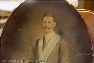 Fitzroy (1912) - John Archibald McIntyre drowned in the SS Fitzroy disaster; teacher in charge of Bonville School from January 1902 until his death