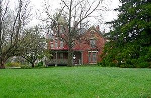 National Register of Historic Places listings in Richardson County, Nebraska - Image: John Holman house (Humboldt, NE) from ESE 1