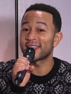 John Legend American singer, songwriter, pianist and record producer from Pennsylvania