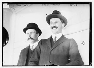 Johnny Traill - Traill and Henry Archdale Tomkinson  on June 4, 1914 for the International Polo Cup