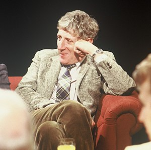 Jonathan Miller - Appearing on TV discussion After Dark in 1988