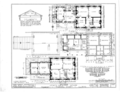 Jones-Menard House, Tremont, Tazewell County, IL HABS ILL,90-TREMO,1- (sheet 2 of 4).png
