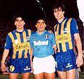 Jorge Díaz, Maradona y Galloni.JPG