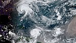 Jose, Lee and Maria 2017-09-18 GOES-16.jpg