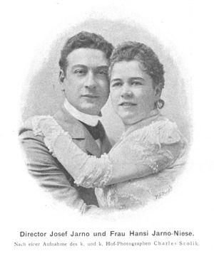 Josef Jarno - Josef Jarno with his wife Hansi Jarno-Niese, 1900