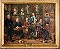 Joseph mc pherson, conversazione nello studio del pittore johann zoffany, 1772-28 (fi, gam) 01.jpg