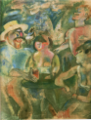 JulesPascin-1915-17-A Meeting in Cuba.png
