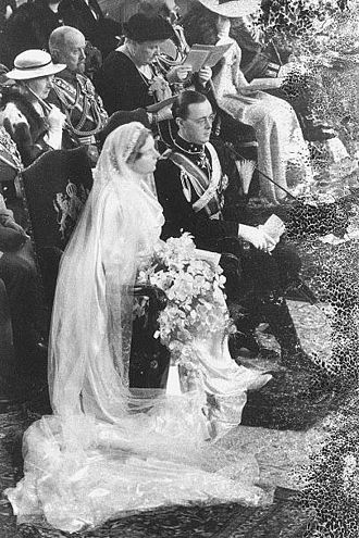 Prince Bernhard of Lippe-Biesterfeld - Princess Juliana and Prince Bernhard 1937 wedding
