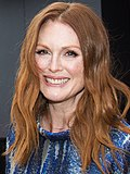 Photo of actress Julianne Moore at the 2008 Tribeca Film Festival.
