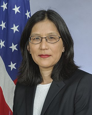 United States Ambassador to Equatorial Guinea - Image: Julie Furuta Toy