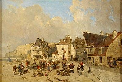 Julius Hinz Ansicht von Dieppe.jpg