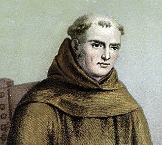 History of California before 1900 - A portrait of Junípero Serra