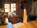 Jyrkkavaara wilderness hut inside.JPG
