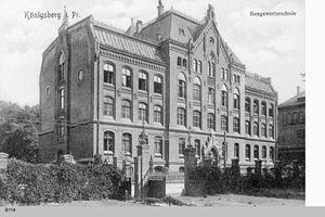 Baugewerkschule, Königsberg - Image: Königsberg Baugewerkschule