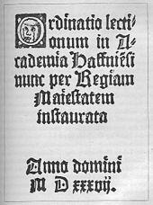 K%C3%B8benhavns universitet lektionskatalog 1537
