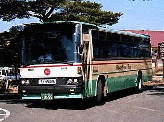 Mitsubishi Fuso Aero Bus - Image: K MS615S Hayashida