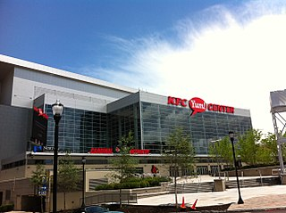 KFC Yum! Center multi-purpose sports arena in Louisville, Kentucky