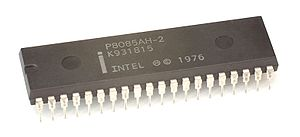 Intel 8085 - An Intel 8085AH processor.