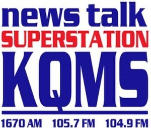 KQMS (AM) - Image: KQMS SUPERSTATION logo