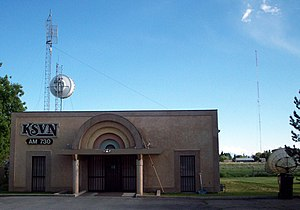 KSVN (AM) - The KSVN studios and transmitter, near Hooper, Utah.