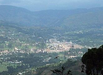 Kabale - Image: Kabale town