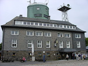 Kahler Asten - Restaurant and observation tower on the Kahle Asten