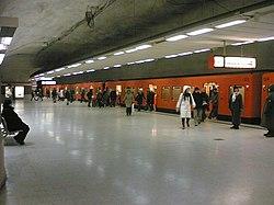 Kampen metrostasjon