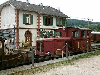 Kandern - Museum at Kandern railway station