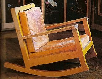 Karin Bergöö Larsson - rocking chair designed by Karin Larsson