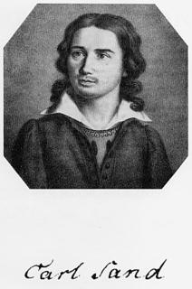 Karl Ludwig Sand German murderer