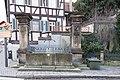 Karmelitenplatz, Brunnen Bamberg 20171229 001.jpg