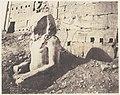 Karnak (Thèbes), Troisième Pylône - Colosse de Spath Calcaire, en D MET DP71383.jpg