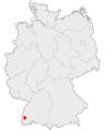 Karte Freiburg im Breisgau in Deutschland.png